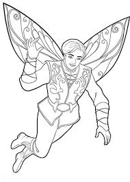 Barbie Mariposa Coloring Pages 1952203