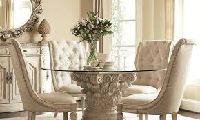 Covered Dining Room Chairs Dining Room Grey Dining Chairs Stunning Tufted Dining Room