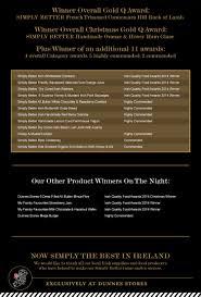 irish quality food awards 2014 irish quality food awards 2014