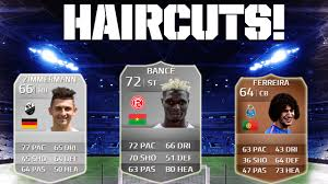 fifa 14 all hairstyles fifa 14 craziest haircuts youtube