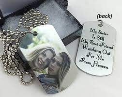remembrance dog tags memorial etsy
