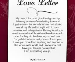 love letters for him from the heart love quotes