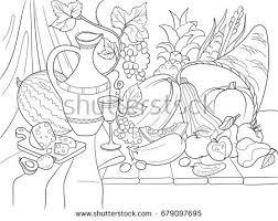 vegetables fruits harvest style vector illustration stock vector