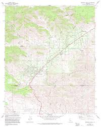 Map Of Riverside Ca Topographic Maps Of Riverside County California