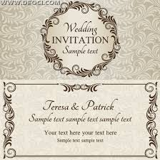 designs for invitation cards free wedding invitation card