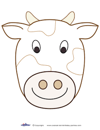 large printable cow decoration coolest free printables cow