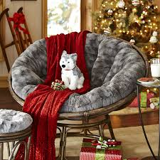 Diy Papasan Cushion Cover by Fuzzy Charcoal Papasan Cushion Papasan Cushion Charcoal And