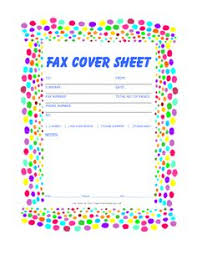 Free Printable Fax Cover Sheet Template Blank Fax Cover Page Free Fax Cover Sheet Template Printable