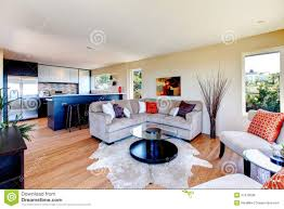 Open Concept Living Room by Open Concept Kitchen Living Room Royalty Free Stock Image Image