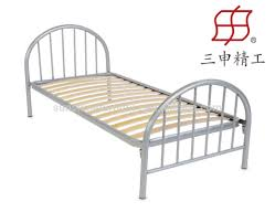 Metal Bed Frames Single by Single Double Queen Size Latest Metal Bed Designs In Wood Slat Bed