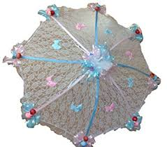 umbrella baby shower decorated baby shower white lace umbrella parasol 32