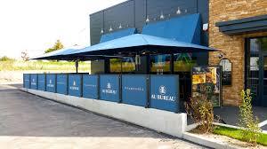 au bureau nimes au bureau parres installation restaurants terrasse