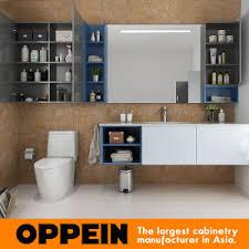 china oppein modern bathroom furniture set wall mounted bathroom