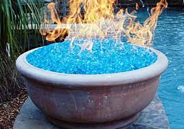 gas pit glass beautiful outdoor gas pit glass rocks fireplaces