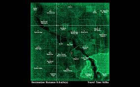 Fallout New Vegas Map With All Locations by Jip Fast Travel Anywhere With Random Encounters At Fallout3 Nexus