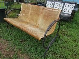 unrestored metal 3seat vintage porch gliders vintage metal