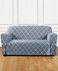 2 Piece T Cushion Loveseat Slipcover Loveseat U0026 Sofa Couch Covers Sofa And Chair Slipcovers Macy U0027s