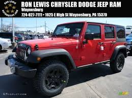 firecracker red jeep cherokee car picker red jeep willys