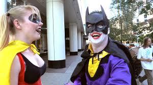 joker u0026 harley quinn play batman u0026 robin real life superhero