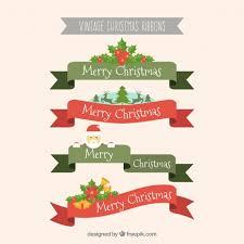 merry christmas ribbon christmas ribbon vectors photos and psd files free