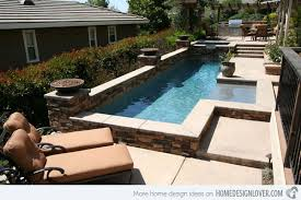 Backyard With Pool Ideas 15 Great Small Swimming Pools Ideas Home Design Lover