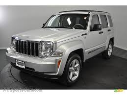 jeep liberty silver 2008 jeep liberty limited 4x4 in bright silver metallic 240224