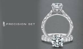 precision set rings precision set engagement rings calvins jewelry tx