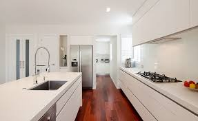 Modern Galley Kitchen Design Kitchen Design Ideas Gallery Mastercraft Kitchens Pertaining To