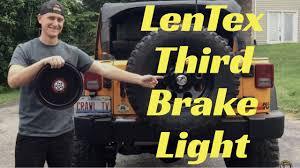3rd brake light led ring led third brake light youtube