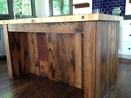 Kitchen Island Made From Reclaimed Wood Kitchen Island Reclaimed Wood Dayri Me