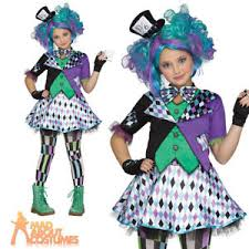 teen mad hatter costume girls halloween wonderland tea party fancy