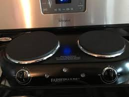 Portable Induction Cooktop Walmart Farberware Double Burner Walmart Com