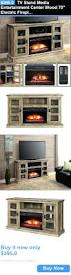 Media Electric Fireplace Electric Fireplace Heater Entertainment Center Midnight Media
