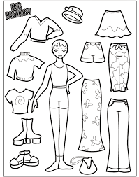 fashion model coloring pages fab fashions 1 coloring page crayola com