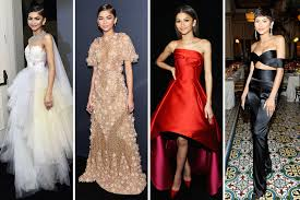Dresses For Prom Zendaya Prom Dresses Teen Vogue