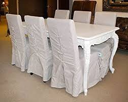 Shabby Chic Dining Table And Chairs Shabby Chic Dining Table Set 1 Table 6 Chairs