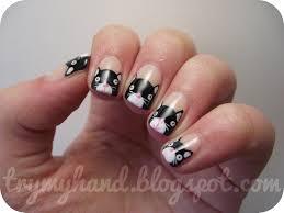 try my hand alphabet nail art challenge k for kittens