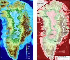 Pictures Of Maps New Greenland Maps Show More Glaciers At Risk Nasa