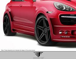 porsche widebody rear aero function 108863 2011 2014 porsche cayenne af 3 widebody
