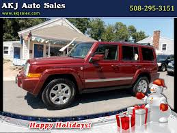 red jeep commander buy here pay here cars for sale west wareham ma 02576 akj auto sales