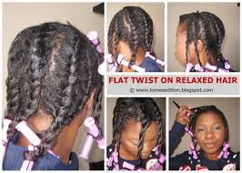 best hairstyles for relaxed hair how to style relaxed hair tomes edition my best flat twist out on relaxed hair u2026