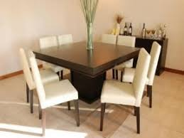 Dining Table  Seater Foter - Black dining table for 8