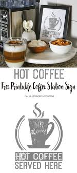 wine a you ll feel better sign1800 gift baskets hot coffee free printable coffee station sign giveaway