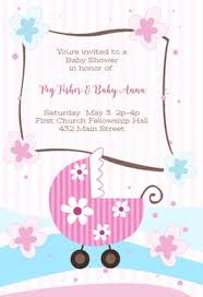 or baby shower baby shower invitation templates free greetings island