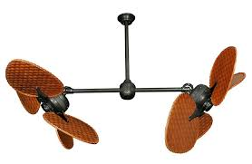 ceiling fans antique bronze breakthrough double headed ceiling fan fans pixball com