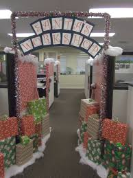 Christmas Door Decorations Ideas For The Office Christmas Decorations Can Boost Morale At The Office Leland