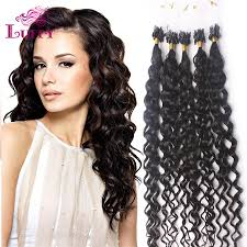 100 human hair extensions luffy hair 1g strands micro ring loop 100 human hair extensions