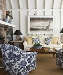 Blue And White Living Room Decorating Ideas Interior Design Ideas Home Bunch