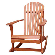creativeworks home decor adirondack chairs solid wood adirondack style porch rocker rocking chair icapcr169 your home is a natural