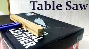 how make a table saw how to make a table saw at home easy way youtube